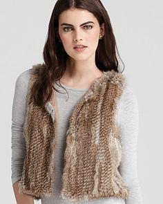 525 America Vest - Classic Fur   Bloomingdale's $198