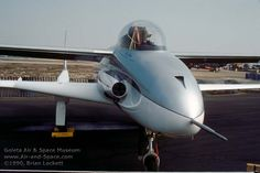Scaled Composites - Model 151 (Ares) Is a Composite, Canard Aircraft Designed by Burt Rutan for a 1981 US Army Close Air Support Study. Armed with a GAU-12/U 25mm Rotary Barreled Cannon and (2) AIM-9 Sidewinders, (4) AIM-92 Stingers and Air to Ground Unguided Missiles.