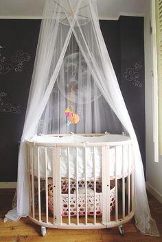 Stokke Sleepi crib #baby #nursery