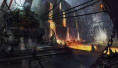 Dungeon by eWKn on deviantART