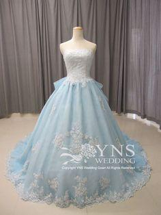 *。°*幸せを呼ぶカラードレス*。°* の画像|YNS WEDDINGオーダーウェディングドレスショップ