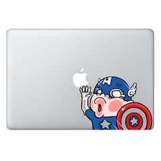 [ Captain America ] TRAPPED SERIES FOR MACBOOK & LAPTOP