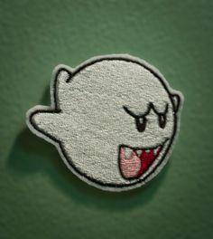 BOO - brodé Patch Ghost Nintendo de Mario Brothers