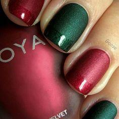 Diy christmas nail art 50 christmas nail designs you can do best christmas nails for 2017 64 trending christmas nail designs solutioingenieria Gallery