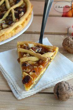 #Crostata allo #strudel #ricetta #foodporn #gialloblogs