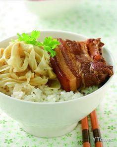 焢肉飯 Taiwanese Popcorn Chicken, Cabbage, Pork, Beef, Vegetables, Recipes, Kale Stir Fry, Meat, Recipies