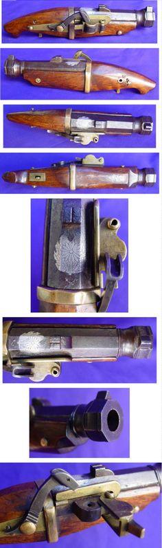 Japanese matchlock pistol.