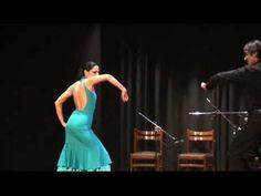 Blanco-rojo-negro flamenco. Carolina Scalas e Corrado Ponchiroli al baile  www.flamencorimini.it