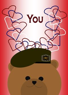 Does your Valentine wear an Army, Navy, Coast Guard or Air Force uniform? Find a cute way to share your love this Valentine's day with my card designs @ www.cafepress.com/miltiarylifesmoments