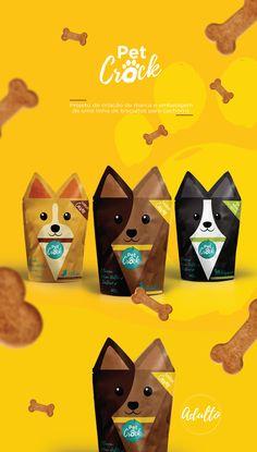 Projeto para a cadeira de Embalagem, como objetivo de criar marca, identidade e embalagem de biscoito para cachorro com o foco em consumidores que tratam seu cachorro como parte da familia. Trabalho feito em conjunto com Rayanne Quintino.