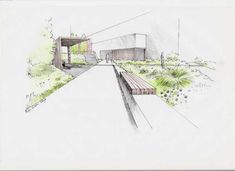 See the top 10 of sketch Saturday  >>> http://landarchs.com/sketchy-saturday-l-010/