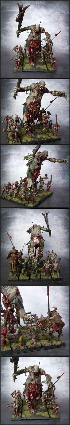 Vampire Counts Zombie Giant Warhammer