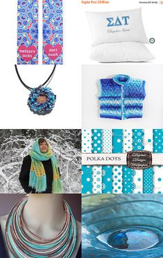 Hello blue by Atelier Chloe on Etsy--Pinned with TreasuryPin.com
