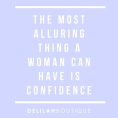 Confidence is key! Let yours shine today xx