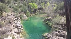 Places like this do exist in the middle of the desert, Fossil Springs, Arizona - Imgur