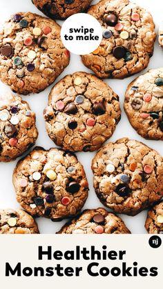 Sin Gluten, Vegan Gluten Free, Gluten Free Recipes, Paleo, Healthy Desserts, Healthy Baking, Dessert Recipes, Dinner Recipes, Healthy Cookies