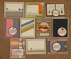 airbornewife's stamping spot: Some cards I made recently using products from Eyeletoutlet.com