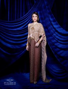 Thai Art, Fashion Dresses, Sari, Costumes, Wedding, Fashion Show Dresses, Saree, Valentines Day Weddings, Trendy Dresses
