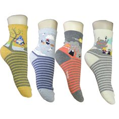 Totoro, Kiki, Spirited Away and Howl's Moving Castle Socks