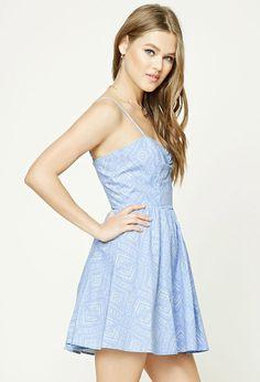 Product Name:Tribal Print Smocked Dress, Category:dress, Price:15.99