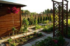 Dom w amarylisach Interior Garden, Interior Design, Krishna Art, Garden Trees, Garden Crafts, Backyard Landscaping, Outdoor Gardens, Garden Design, Outdoor Structures