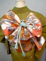 kimono, obi