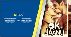 Watch Ok Jaanu with our brand new offers only via tixdo.com  #Shraddha Kapoor #Aditya Roy Kapur #Naseeruddin Shah #Bollywood #Offers #Tickets #watchnow Ok Jaanu, Naseeruddin Shah, Movie Tickets, All Movies, Shraddha Kapoor, Bollywood, Watch, Clock