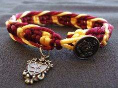 Hey, I found this really awesome Etsy listing at http://www.etsy.com/listing/153995939/harry-potter-gryffindor-bracelet-with