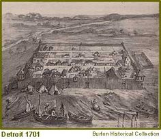 Happy Birthday Detroit, founded in 1701.  You are 313 years old on July 24th