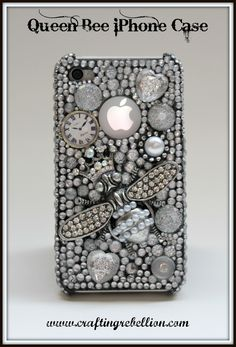 """Crafting Rebellion: Make Your Own 3D """"Queen Bee"""" Phone Case - First in a Series"""