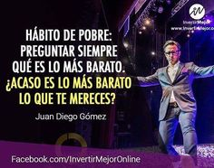 Poor habit: Always ask which is the cheapest. Perhaps it is cheaper than you deserve?  Hábito del pobre: Preguntar siempre que es lo más barato. Acaso es lo más barato lo que te mereces?  #Inspiration #Motivated #toptags @top.tags #SuccessQuotes #MotivationalQuotes #Millionaire #Learn #Network #AlwaysLearning #Grind #Dedication #Ambition #Money #Hustle #BuildYourEmpire #Leadership #SelfMade #DreamBig #MillionaireLifestyle #GoodLife #Mindset #KeepGoing #DailyGrind #NeverGiveUp #Entrepreneur…