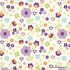 Fabric... Dress Up Days Floral in Grape by Riley Blake