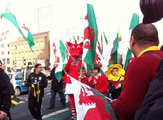 We ♥ the St David's Day Parade (Cardiff, March 1st 2012)