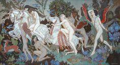 Unicorns by John Duncan The University of Edinburgh Fine Art Collection Date painted: 1933