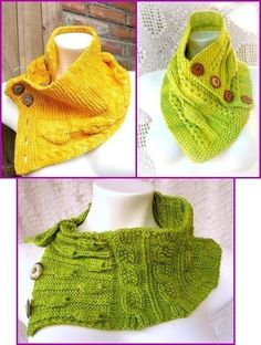 Flowers and Leaves PDF Knitting Pattern por 7Knits en Etsy