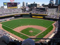 Gorgeous Target Field, where the Minnesota Twins play.