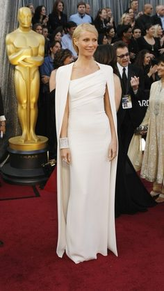 Gwyneth Paltrow in Tom Ford  Two words:the cape. I love it!