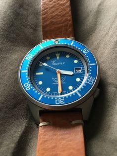 TK Squale 1521 blue ocean blasted