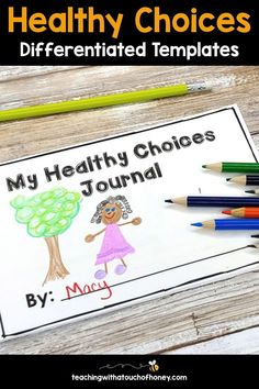 These ready-to-use printables and digital Google Slides are the perfect way to support your students during a health unit on making healthy choices. The healthy choices differentiated activities packet contains a number of options to help your Grade 1, Grade 2, and Grade 3 students develop their understanding of developing healthy habits in their daily lives. Wellness Activities, Fitness Activities, Preschool Activities, Winter Activities, Health Unit, Kids Health, Writing Lesson Plans, Lesson Planning, School Age Crafts