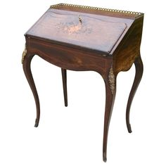 Napoleon III Lady's Desk from French Metro Antiques