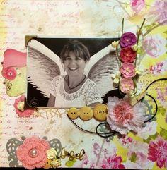 Angel layout by Toni Herron..   https://www.facebook.com/scrapcrazy.customcreations
