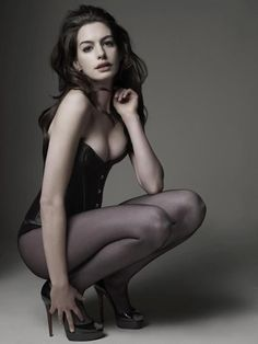Anne Hathaway by Mark Seliger