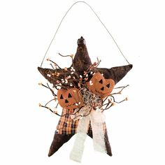 Check out the deal on Pumpkin Star Hanger at Primitive Home Decors