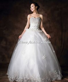 Hey, I found this really awesome Etsy listing at http://www.etsy.com/listing/160755269/custom-wedding-dressorganza-ball-gown