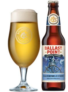 "Calm Before the Storm ""infuse[d with] a punch of flavor using cold brewed Caffé Calabria coffee and a hint of vanilla. But this time, we added it to a lighter-bodied golden cream ale. "" 