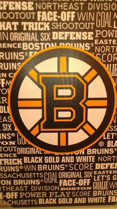 Bring the Cup back to Boston, boys!