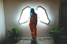 Halsey in angelus house
