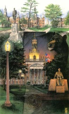 Beauty. Tradition. Bears. That's the #Baylor University campus. #SicEm