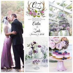 Fall/Winter Shades of Purple and White Floral by BeholdDesignz. Design Colors can be customized to your bouquet by Behold Designz.