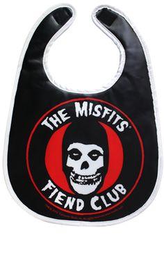 MISFITS FIEND CLUB BIB by Sourpussclothing.com